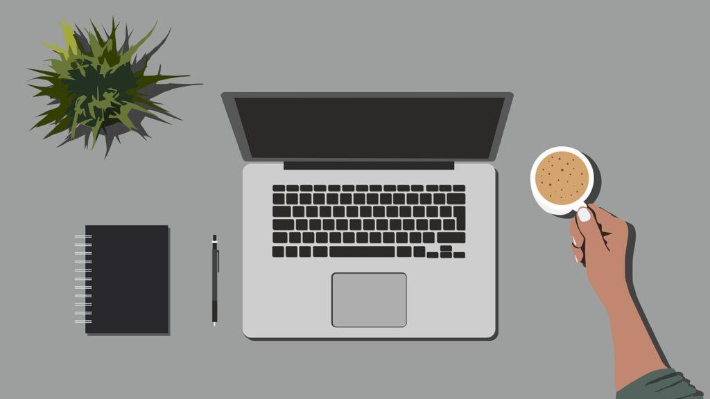 telework, computer, work